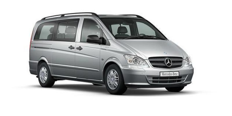 Mercedesbenz Vito front right side