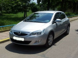 Opel-Astra-Automatic-Front